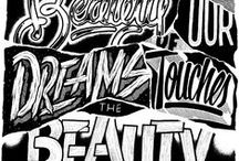 TYPOGRAPHY DESIGN / Typography, Lettering and Font Inspiration. #downloadt-shirtdesigns