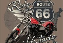 MOTORCYCLE | PRINTS / Motorcycle and Biker print, graphic & design inspiration for printed T-Shirts & Products. #downloadt-shirtdesigns