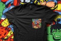POCKET PRINT / Creative ways to print pockets on T-Shirts. #downloadt-shirtdesigns