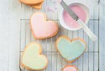 El amor está en el aire / Ideas deliciosas para la celebrar el amor y la amistad.