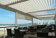 The Solisysteme Bioclimatic Pergola- Commercial