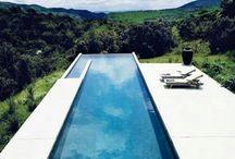 La piscina ideal / Vivir en el agua