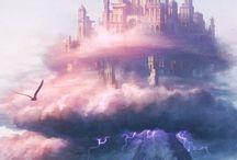 Lugares maravillosos / Fotografías de lugares del mundo interesantes, ilustraciones de castillos y imágenes maravillosas .