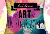 HOME DECOR PRINTS / From Runway to Room. Print it on a pillow, chair, lamp or hang it on a wall. Print, graphic & design inspiration for printed  home decor products. #downloadt-shirtdesigns