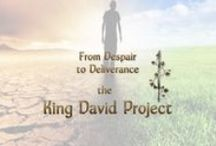 """King David - Encouragement and Study Resources / """"From Despair to Deliverance: the King David Project,"""" is a non-profit ministry, that seeks to make the life of King David easy to understand and relevant, so that believers gain inspiration and comfort from the life of King David. The project is run by Cate Russell-Cole, a Christian writer from Brisbane, Australia."""
