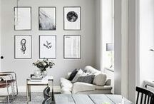 Wall gallery / wall gallery interior style ideas http://www.stripesnvibes.com/