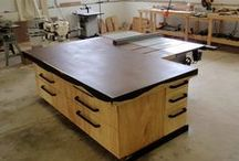 Shop - Assembly/Outfeed Table / Assembly and/or outfeed tables for the shop.