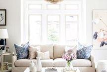 Living Room Decor / Living room decoration ideas http://www.stripesnvibes.com/