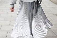 Pleated Skirt Style / Pleated Skirt Style, Minimal Style, Everyday Style, Street style