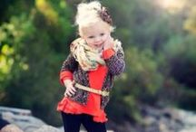 Fashion Ideas For The Kiddos / Inspiration for dressing my little fashionistas