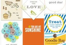 Printables & Fonts / Cute and Vibrant and Well Designed Free Printables + Fonts