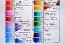 Watercolor / Ideas & Techniques For Watercolor