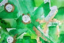 Emerald Elegance, Green Glam / Lush Greens For Fun, Expressive Living