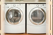 Laudable Laundry Rooms / Laundry Rooms to Love Working In