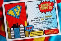 PARTY IDEAS - Super Hero