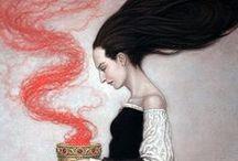 SORCERESS, ORACLES & PRIESTESS / Woman who know & tell................. / by Diane Briegleb