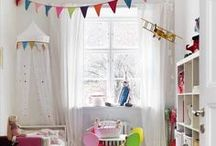 Home Style / Bright and colourful home ideas, lots of home items to create yourself from DIY shelves to bunting
