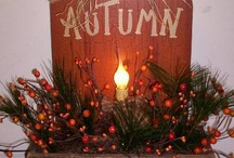 Autumn ideas for the home / by Debbie Sanford Dearth