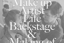 Make up Artist Life * Hinter den Kulissen / Backstage mit einem Profi Make up Artist