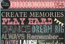 Chalkboard Obsession
