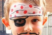 KIDS - Face Painting Ideas / by Twin Dragonfly Designs
