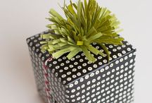 Glamourous Giftwrap / Wrapping Should Make a Statement