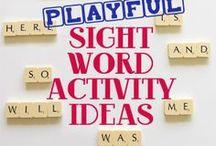 Sight Words / by Melissa Alonzo-Dillard