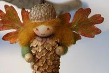 Autumn Ideas / Lots of Autumn crafts and activities to get the cosy autumnal feeling