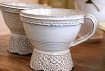 Ceramic mugs cups etc