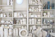 Ceramic studios and tools