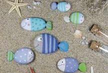 Painted Rock Ideas / by Twin Dragonfly Designs