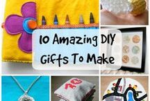 DIY Present Ideas / DIY gifts and homemade presents for friends and family
