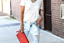 P L A I N  T E E S / Outfit ideas using your plain white/black/grey tshirt