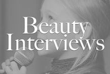 Beauty Interviews * Die Schminktante fragt... / Alle Beautyinterviews von meinem Blog. * Beauty Interviews with beautiful different womans from the blog.