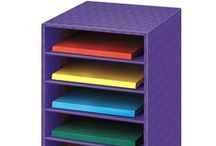 Classroom Organization / Providing smart storage solutions for teachers and classrooms.