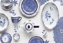 Porcelain and glass