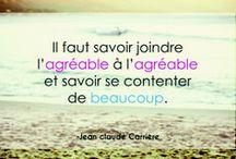 Belles phrases / De beaux mots peuvent parfois rendre heureux, à condition de ne pas oublier de les dire !  #beautiful #citation #quote #waterbike