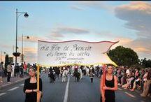 Défilé d'ouverture des Fêtes de la Madeleine 2014 / Défilé et Spectacle. Le Foire de Beaucaire à travers les siècles ! Une Foire au rayonnement international... Carrefour entre l'Orient et l'Occident !
