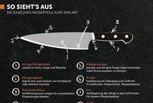 Küchenmesser / #Küchenmesser gehören zur Grundausstattung einer #Küche genauso wie der Kochtopf. Doch welches #Messer ist das passende für Sie und was macht ein gutes Messer überhaupt aus? Eine kleine Hilfestellung für den #Messerkauf .