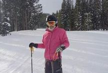 My Colorado Christmas / I spent a week in Breckenridge at Peak 7. Learnt to ski at Peak 9. Amazing.  I spent a week in Avon and skied in Beaver Creek, best skiing.  Spent a day at Vail beautiful town and fields, a bit pricey.