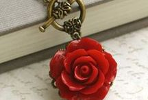 Red...Rose...Love / Red: A pure symbol of love, rose.