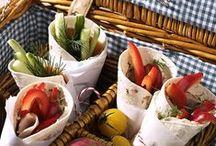 Picknick ins Grüne / Picnic time, mit leckeren Snacks und vorbereiteten Speisen ab in die Natur/nach draußen.