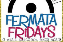 Fermata Fridays / All of the blog posts that have been linked up with Fermata Fridays, hosted on caldwellorganizedchaos.blogspot.com . Find some of the best music education blog posts here, and if you're a blogger, fill out the submission form on the blog to be featured!