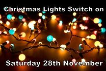 Christmas lights / This is us! North Walsham celebrating Christmas