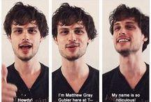 Criminal Minds (okay, mostly Reid cause he's bae.)