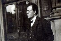 Густав Малер / Gustav Mahler (1960-1911) - an Austrian late-Romantic composer, and one of the leading conductors of his generation.