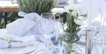 White Dinner Party / All white everything! Wir laden ein zur White Party! Der Dresscode: weißes Sommerkleid für die Damen, weiße Shorts und Shirt für die Herren. Die Location: der Garten, geschmückt mit weißen Lampions und Laternen. Auf dem Buffet: ein feines weiße Pastinaken-Süppchen, Frozen Joghurt und Champagner. Auf einen unvergesslichen Abend!