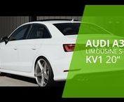 DF ♡ AUDI A3 LIMOUSINE/ SEDAN WHEELS / #Audi A3 Limousine Tuning #Carporn #Felgen, Gewindefahrwerk