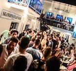 Skandinavian Bar Outdoor Mykonos / Skandinavian Bars & Disco Outdoor Area #Skandinavian-Bar #Mykonos-Nightlife #Mykonos #Mykonos-Clubs