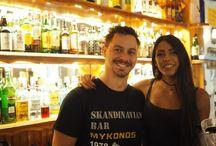 Skandinavian Bar Team Mykonos